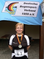 Silber für Christine Wanner bei der dm-bogenlaufen-2010-werste_0729