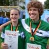 Gold für Kaddi und Philipp